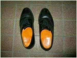 (写真は20年経った今も型崩れしないアメリカの靴)