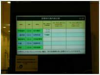 神戸中央市民病院の表示板