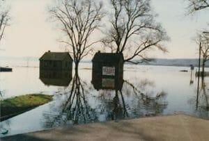ミシシッピ川の洪水
