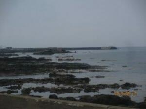 五能線沿いの日本海