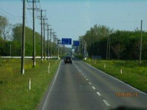 12キロの直線道路