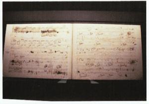 ショパン自筆の楽譜