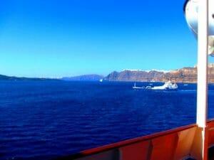 空と海の碧い色 エーゲ海