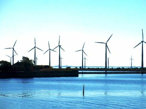洋上の風力発電