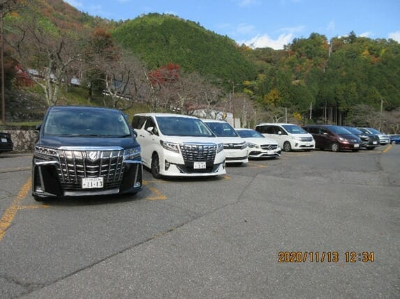 他府県の車が多い